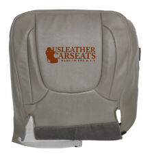 2005 Dodge 2500 3500 Laramie Driver Bottom Synthetic Leather Seat Cover Taupe