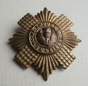Genuine Scots Guards Cap Badge / Sweetheart Brooch - British Army / Military