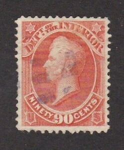 United States stamp #o24, used, 1873, VF - XF, SCV $72.50