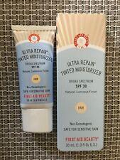 Fab First Aid Beauty Ultra Repair Tinted Moisturizer, Spf 30: Fair- Exp. 08/20