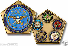NEW U.S. Department of Defense Pentagon Challenge Coin. 76017.
