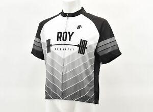 Hincapie Roy Crossfit Men's 2XL Club Cut Short Sleeve Jersey White/Blak CLOSEOUT