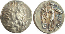 THESSALIE CONFEDERATION  STATERE  ARGENT 196-146 AV J-C , ZEUS  R/ ATHENA ITONIA