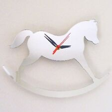 Rocking Horse Clock - Acrylic Mirror (Several Sizes Available)
