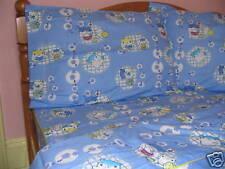 Cotton Full Size Anime Comforter Cover/ Duvet Cover Set Blue White Yellow Red 3P