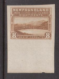 Newfoundland #99a XF Mint Imperf Gem