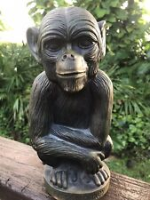 "The Brass Monkey - Plastic Coin Piggy Bank 12"" free Shipping"