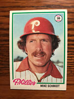 1978 Topps #360 Mike Schmidt Baseball Card Philadelphia Phillies HOF Raw