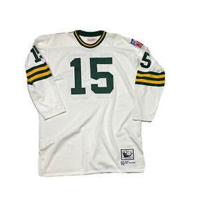 Mitchell & Ness Throwback Jersey 54 XXL Green Bay Packers Bart Starr 1969 White