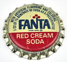 Coca-cola Fanta red Cream Soda tapita estados unidos soda bottle cap plástico sellado