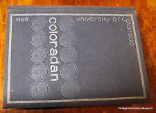 Steve Wozniak First College University of Colorado Bolder  Yearbook 1969