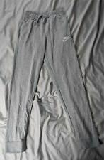 Nike Boy's Full-Length Sportwear Pants Mc7 Dark Grey Heather Ah6073-064 Large