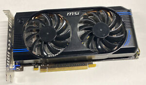 MSI N560GTX-M2D1GD5 - Graphics card - GF GTX 560 - 1 GB GDDR5 - PCI E