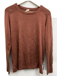 Lululemon Back to Balance LS Sweater NWT RSTC Rustic Clay Size 6 $128