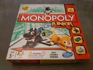 Monopoly Hasbro Junior Board Game 5+