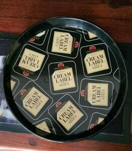 Vintage Watneys Cream Label Stout Beer Advertising Tray Tin Barware VGVC