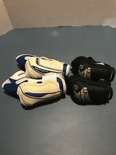 Lot Of 2 Pairs Youth & Junior Bauer Elbow Pads Size Small S