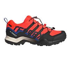 adidas Mens Terrex Swift R2 GORE-TEX Walking Shoes Black Red Sports Outdoors
