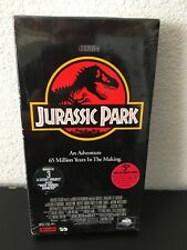 Jurssic Park VHS Movie Upc096898140935 Spielberg Goldblum Attenborough Neill