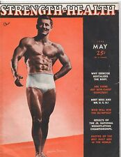 Strength & Health Bodybuilding Muscle Weightlifting Mag Fraysher Fergruson 5-48