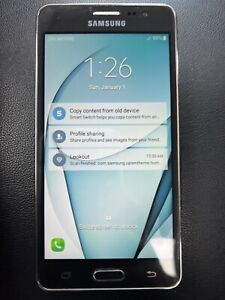 Samsung Galaxy On5 - SM-G550T 8GB Black (T-Mobile) Works - Great Cond