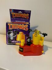 Collectable Vtg Retro THINGS Sir Ring-A-Lot Skill Game MB Games Fun 1986 (5)