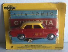 Mercury hachette art 17 alfa romeo giulietta taxi bern 1/48ème