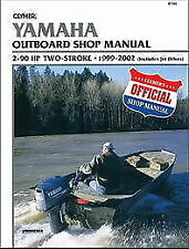 Yamaha Marine 2-90hp 1999-2002 Outboard Boat Motor Engine Repair Service Manual