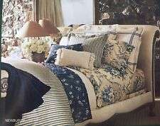 NIP  Ralph Lauren Newburgh Striped Sheets ~ Supima Cotton 350TC ~ French Country