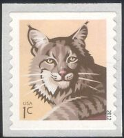 USA 2012 Bobcat/Cats/Wildlife/Animals/Nature/Conservation 1v s/a ex coil n44588a