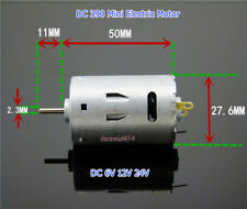 6V~24V 12V DC 390 Mini Electric Motor High Speed 26000RPM Large Torque Magnetic