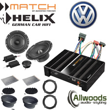 Match Amp & harness PP62DSP + Harness + Helix F 62C Component Upgrade VW Tiguan