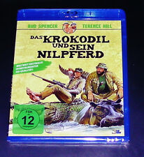 The Crocodile and His Hippo Bud Spencer/Terence Hill Blu Ray new OVP
