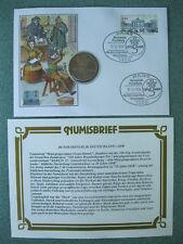Numisbrief Deutschland Münze 5 Mark XX Jahre DDR Berlin Brandenburger Tor BBT