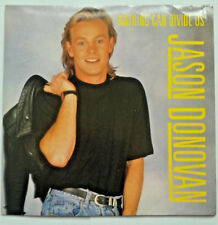"""Jason Donovan - Nothing Can Divide Us 7"""" Vinyl Record 45RPM 1980s Music"""