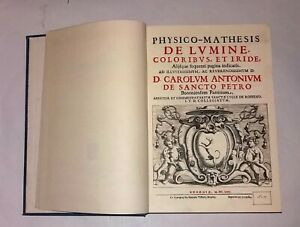 Physico-Mathesis de lumine.- F. Maria Grimaldi - Ed. Forni - Ristampa anastatica