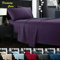 Egyptian Comfort Sheets Hotel Luxury 1800 Count 4 PCS Deep Pocket Bed sheet Set