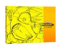 """Event limited animation """"my hero Academia"""" official Cels B5 P132 book  Japan"""