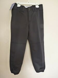 Mizuno Softball Women's Belted Black Pants Polyester Size Small NWT