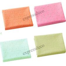 Lot 4 Coupons Tissu Tons pastels 50 x 50 cm Patchwork Couture DIY Fleur Liberty