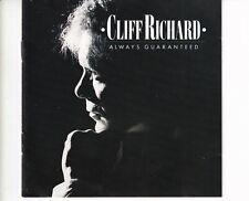 CD CLIFF RICHARDalways guaranteedGERMAN 1987 EX+ (B5928)