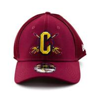 Cleveland Cavaliers New Era Cap NBA 39Thirty Curved Brim Hat in Burgundy Gym