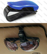 Blue Sun Visor Sunglasses Eye Glasses Card Holder Clip Interior for Subaru