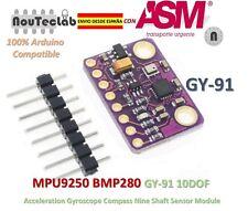GY-91 MPU9250 BMP280 10DOF Acceleration Gyroscope Compass Nine Shaft Sensor