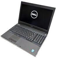 """Dell Precision M4800 15.6"""" Laptop i7-4810MQ 2.80GHz 8GB RAM No HDD/OS J34JL72"""