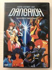 Dangaioh Hyper-Combat Unit The Ultimate Transformers U.S. Manga DVD