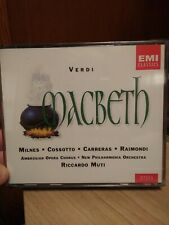 NEW MACBETH VERDI EMI CLASSICS CD