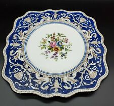 Wedgwood Florentine Blue Square Luncheon Plate