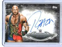 WWE Ryback 2015 Topps Undisputed Black Authentic On Card Autograph SN 49 of 50