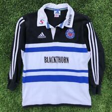 Rare VTG Adidas Bath Blackthorn Long Sleeve Rugby Jersey Shirt Youth Large ?